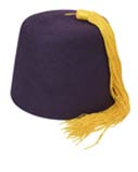 Fez Tassels on a Fez Hat